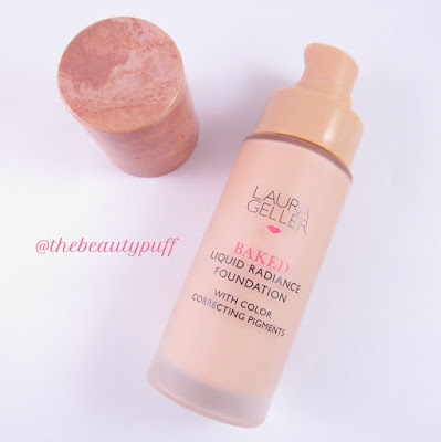 laura geller baked liquid radiance foundation - the beauty puff