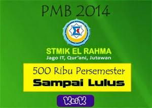 PMB STMIK El Rahma yogyakarata