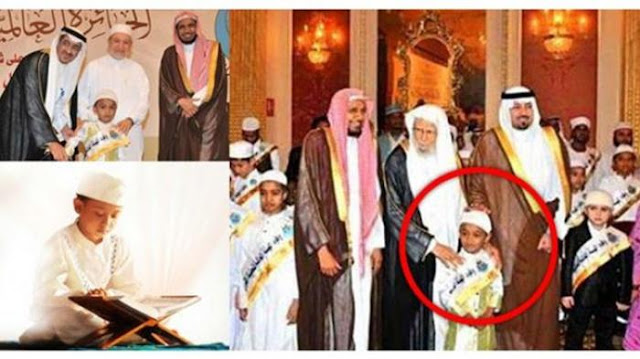 Hafal 30 Juzz Alquran, Bocah Raih Penghargaan dari Arab Saudi