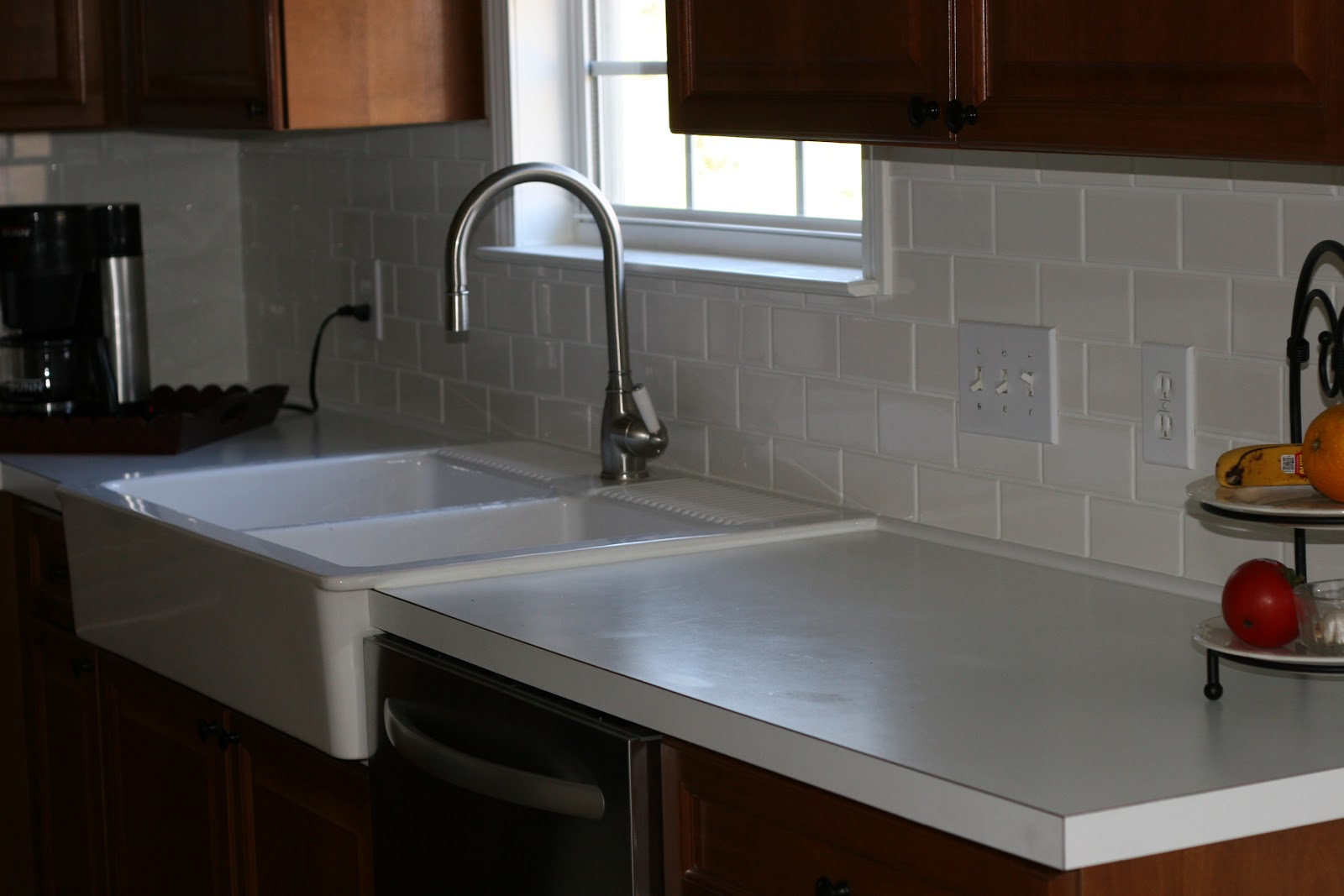 Kitchen Sink Backsplash : What makes me happy: New Kitchen Sink and backsplash