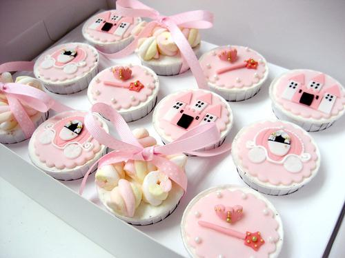 cupcakes romanticos