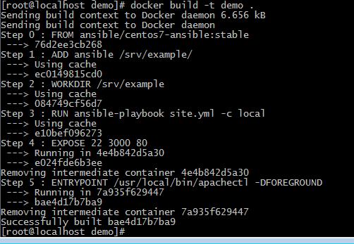 Ciberth S Blog Docker Ansible An Introduction