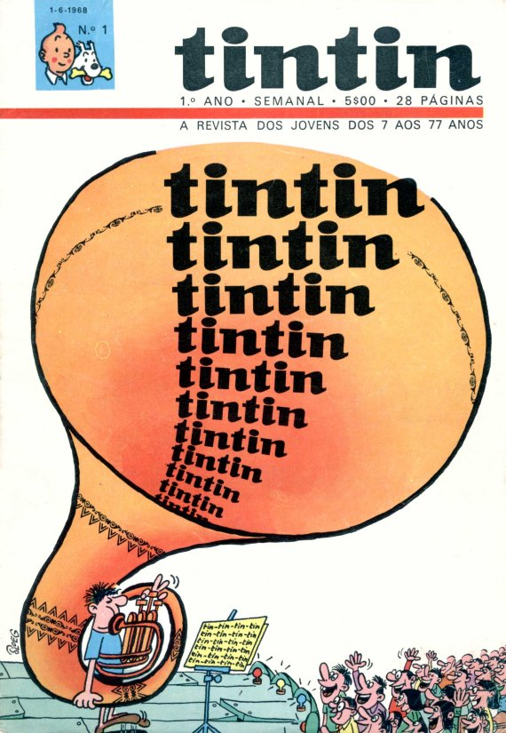 Inventário da revista Tintin