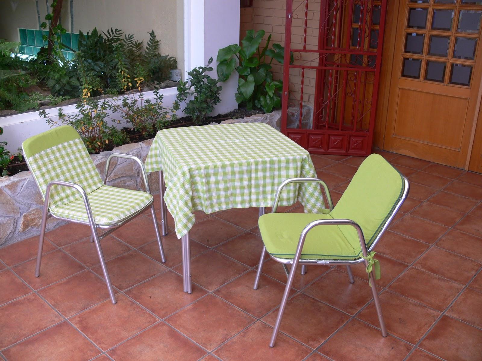 Creaciones mida michel dami cojines de terraza - Cojines para terrazas ...