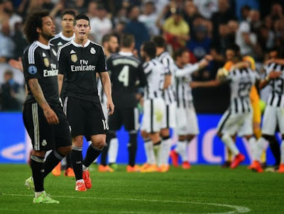 Real Madrid vs Juventus de Champions League