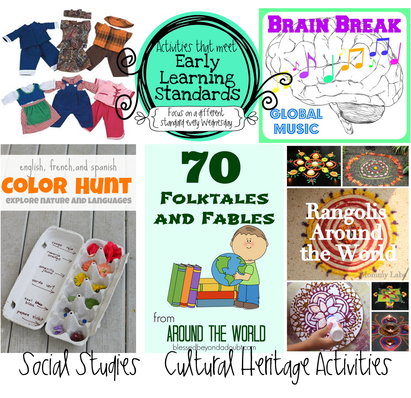 Preschool Ponderings: Preschool Social Studies Activities