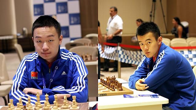 Campeonato del Mundo de Ajedrez - Yi Wei - Ding Liren