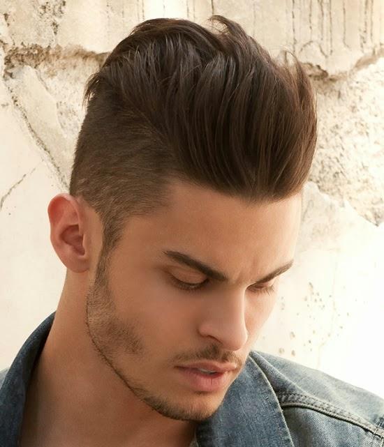 Moda Cabellos Pelo Lacio Para Hombres 2014 - Peinados-hombre-pelo-liso