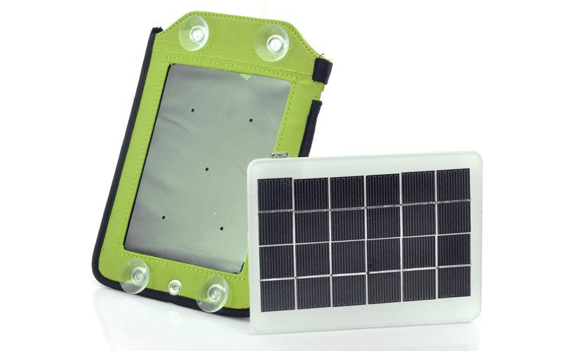 Pannello Solare Per Batteria : Pannello solare portatile batteria mah devices ad