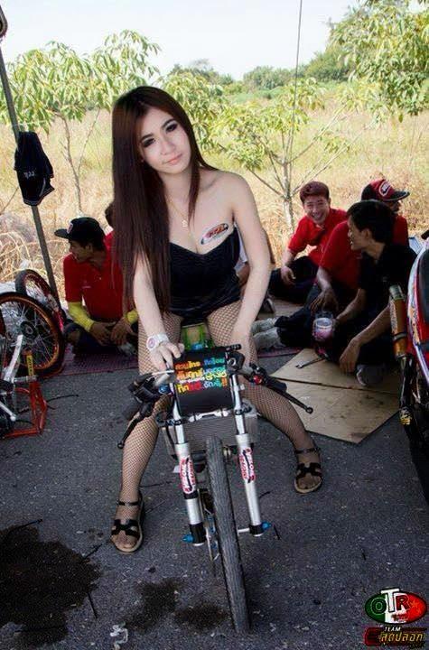 lady dragbike