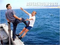 Funny image Crin Antonescu vs Traian Băsescu Referendum