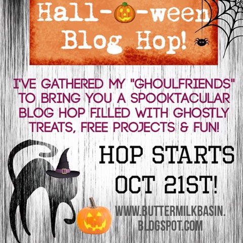 Buttermilk Basin Design - Halloween Blog Hop
