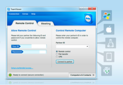 How to Use Remote Desktop With TeamViewer Tutorial Windows 7
