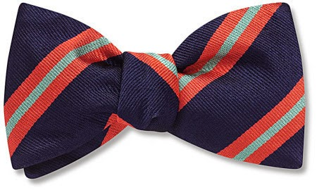 Tudor bow tie from Beau Ties Ltd.