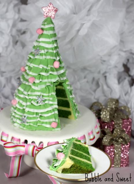 christmas tree cake - photo #35