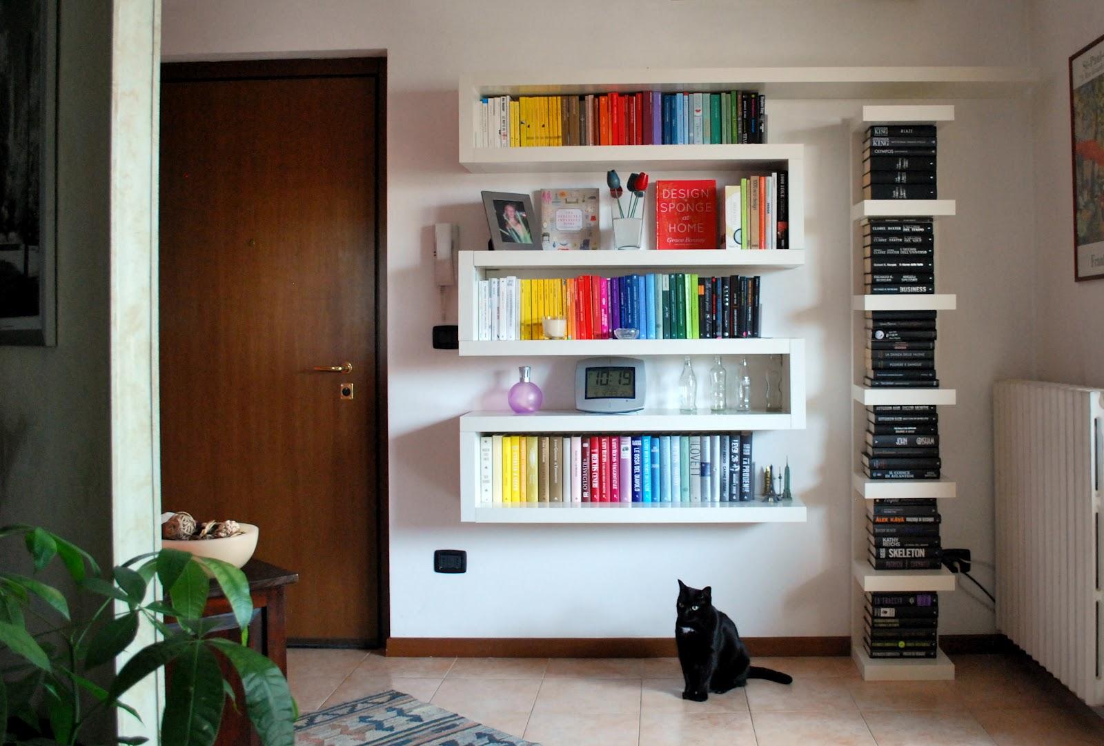 Le donne non sanno scrivere la mia nuova libreria non for Mensole ikea lack