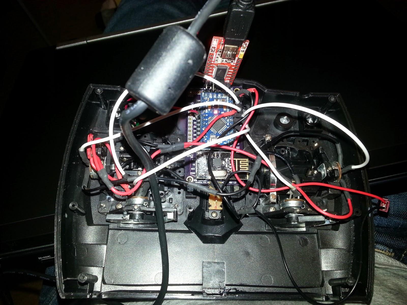 Arduino pro mini v wireless nrf l board remote