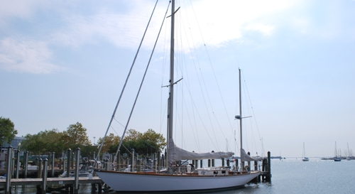 Sailboat in Annapolis