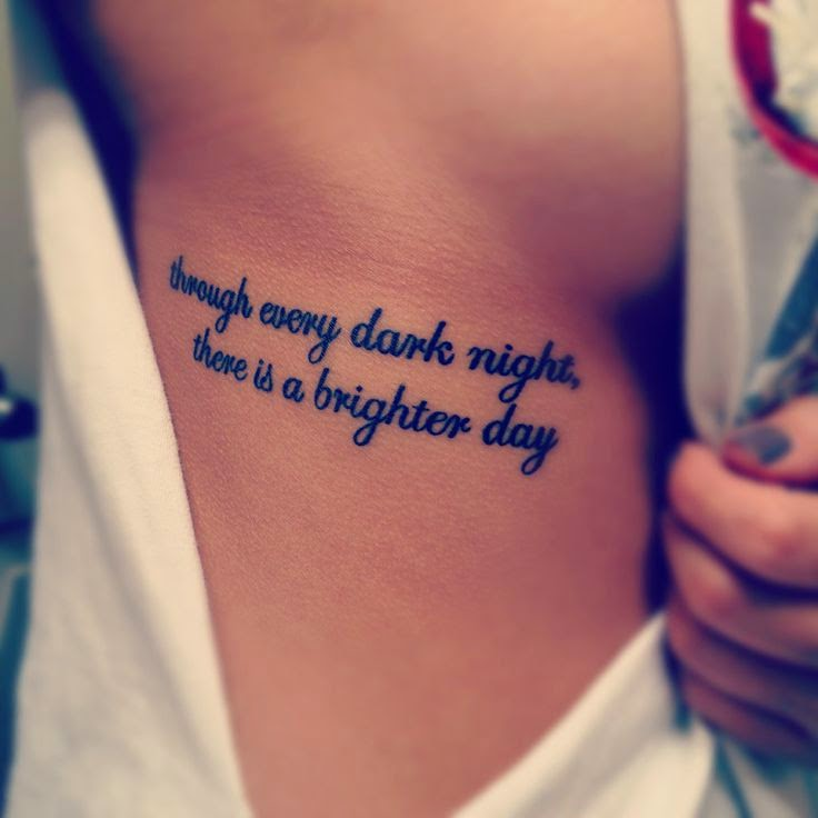 ♥ ♫ ♥ Though every dark night, there is a brighter day  ♥ ♫ ♥