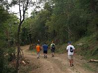 Anant per la pista de Roca-Sitjana