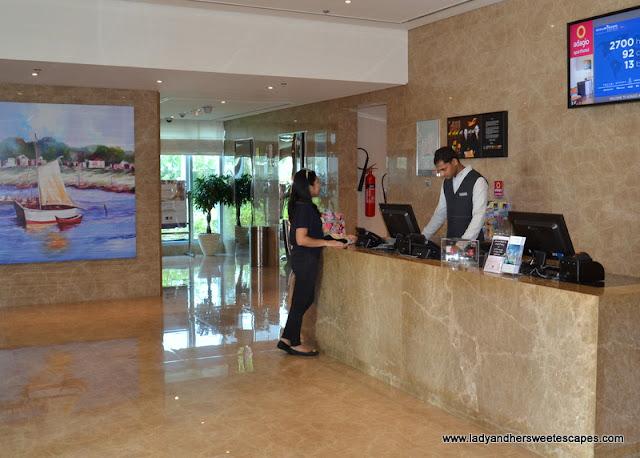 Aparthotel Adagio Fujairah reception