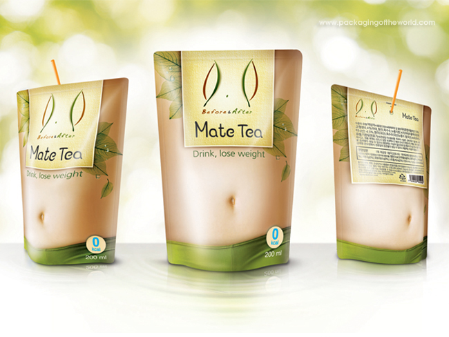 Mate Diet Tea on Packaging of the World - Creative Package ...