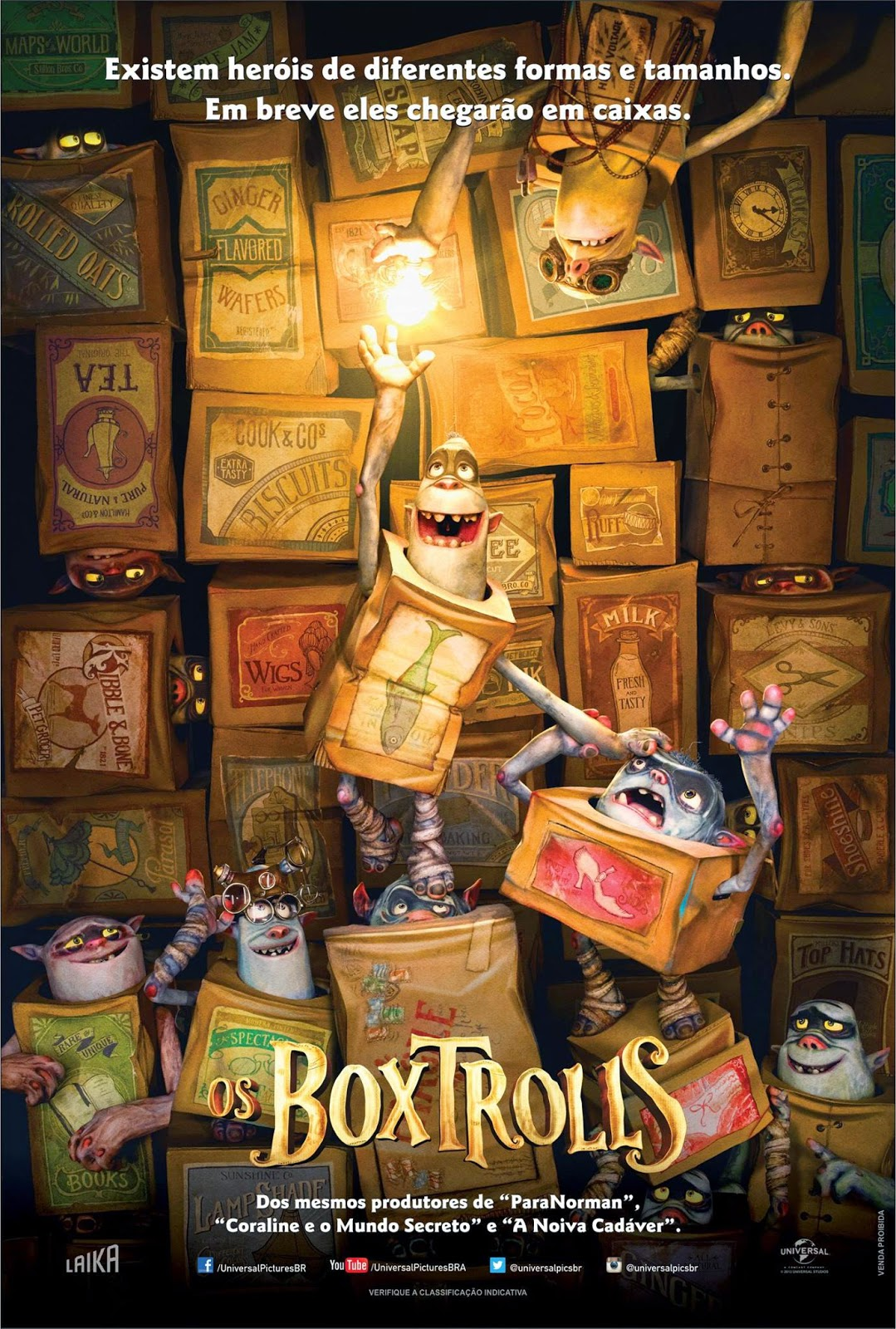 poster Download   Os Boxtrolls   Dual Áudio (2014)