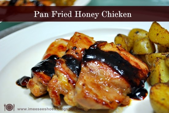 Pan Fried Honey Chicken