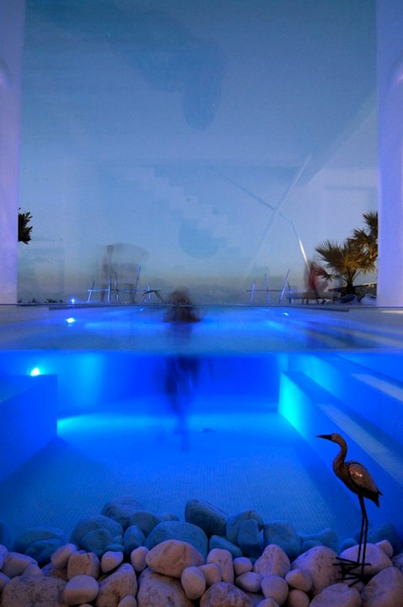 Paros cyclades greece house with swimming pool you can for Modern house 8 part 6