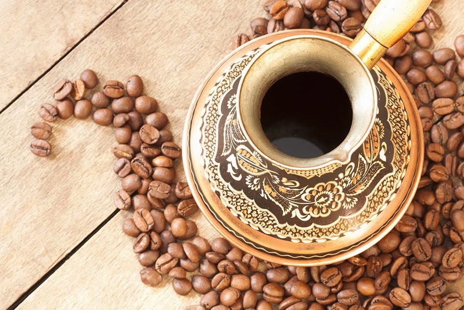 قهوة عربية بالزعفران