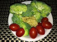 Broccoli and Hummus