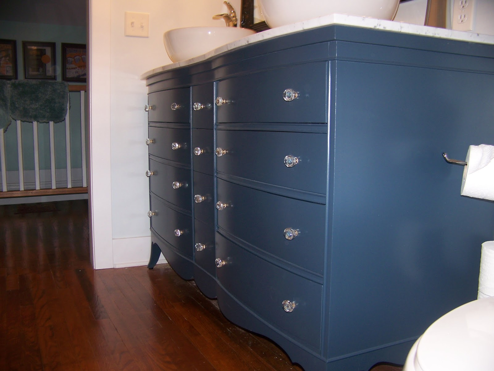 Bathroom Vanities Grand Rapids Mi julie peterson - simple redesign: turning a dresser into a