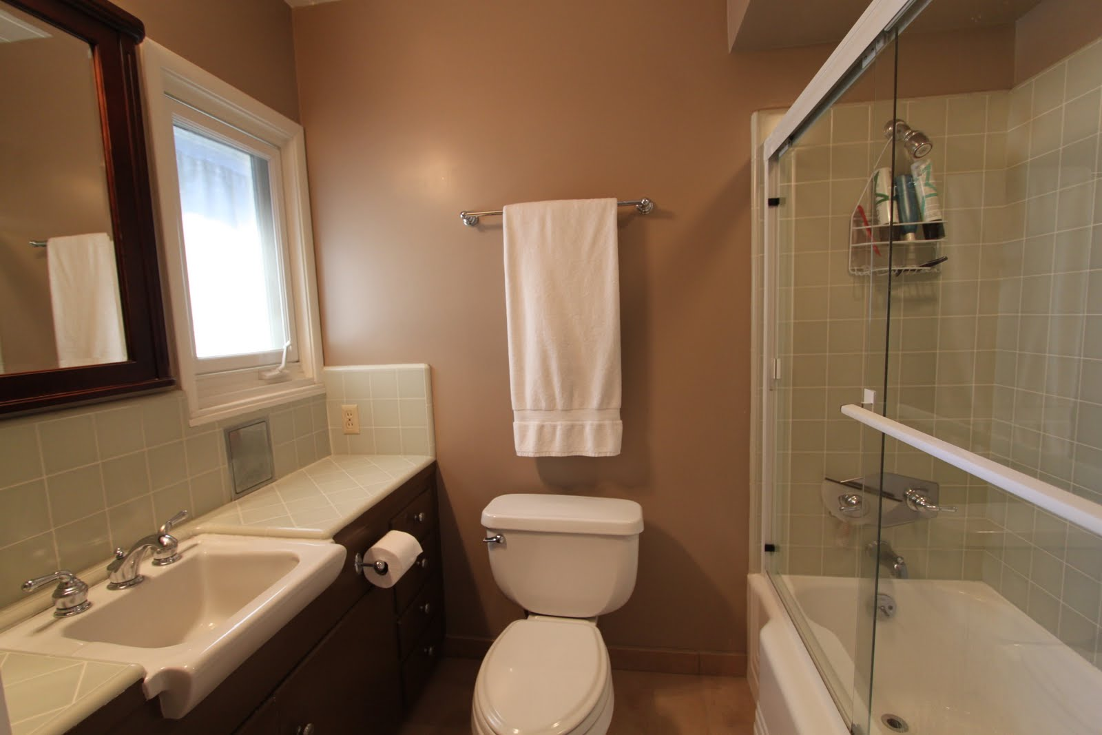 3 mid century bathrooms remodeled mid century modern remodel for Toilet room in master bath