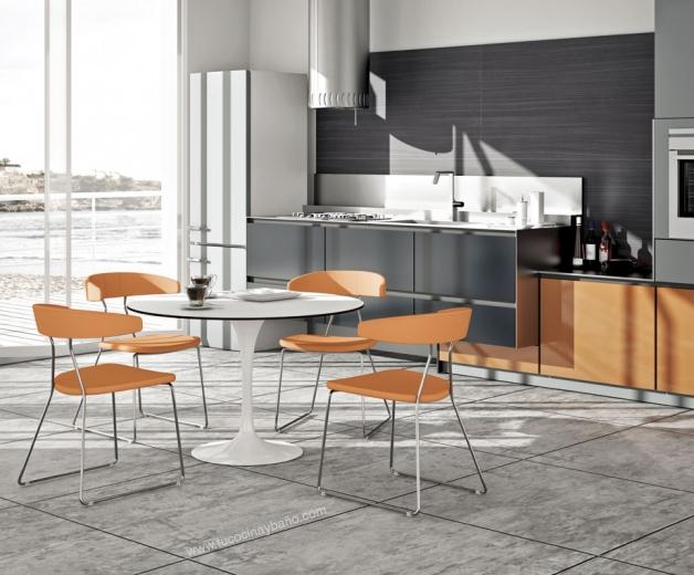 sillas de cocina de diseo ejemplos with sillas de cocina de diseo