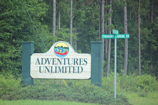Adventures Unlimited in Milton, FL  Blackwater River State Park!