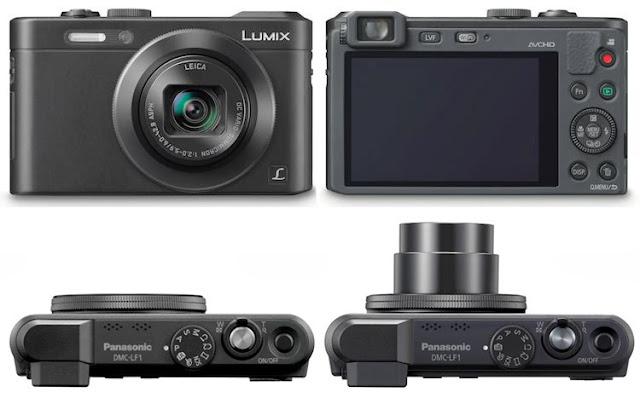 Fotografia della Panasonic Lumix LF1