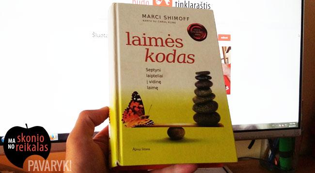 Knyga Laimės kodas