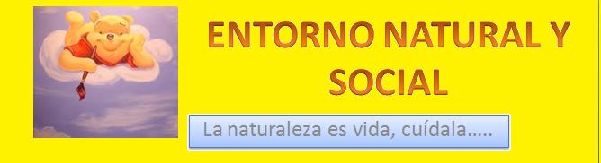 ENTORNO NATURAL Y SOCIAL