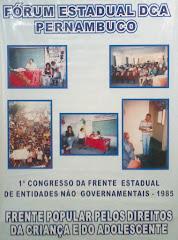 Fórum Estadual DCA Pernambuco