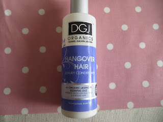DGJ Organics Conditoner Review Hair
