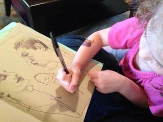 4 Years Small Baby amazing drawing Art