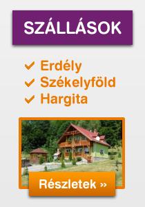 Szállás Erdély, Székelyföld és Hargita!