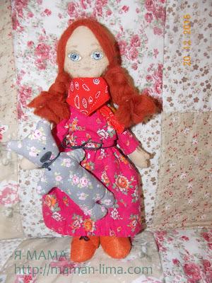 Сшить куклу для начинающих