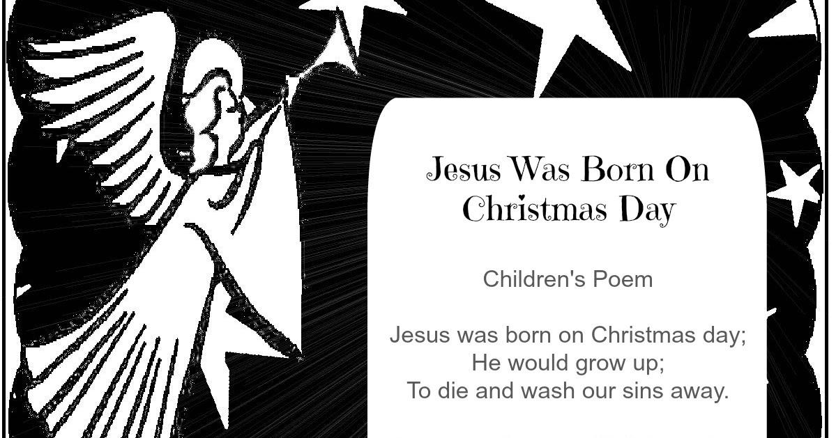 Children's Gems In My Treasure Box: Jesus Was Born On Christmas Day