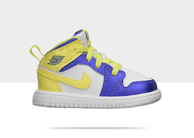Air Jordan 1 Mid Flex (2c-10c) Toddler Girls' Shoe 554727-118