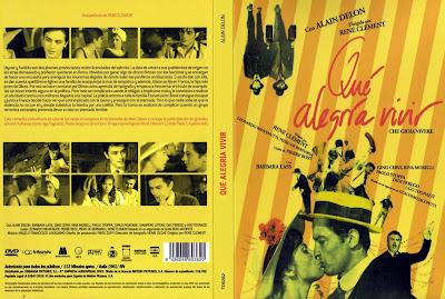 Cover, caratula, dvd: Que alegria vivir | 1960 | Che gioia vivere (Quelle joie de vivre)