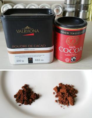 100% cocoa powder, Valrhona cocoa powder, Chocolate Macarons