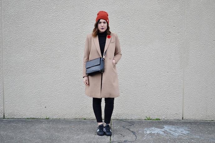 Le Chateau Louise Labrecque handbag Vancouver blogger crossbody winter style