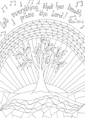 Praise and Worship Coloring Pages Adult