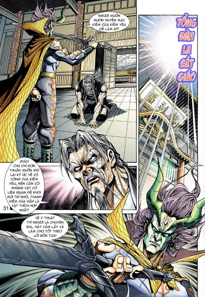 Tân Tác Long Hổ Môn chap 193 - Trang 31